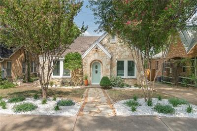Travis County Single Family Home Active Contingent: 2106 Newfield Ln