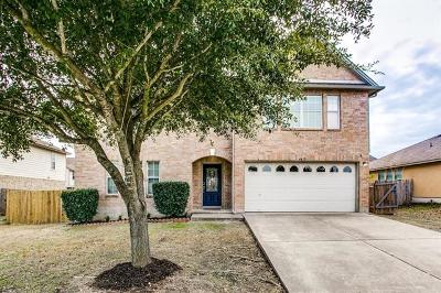 Round Rock Single Family Home For Sale: 4415 Cisco Valley Dr