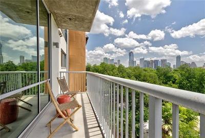 Austin Condo/Townhouse For Sale: 1600 Barton Springs Rd #4505