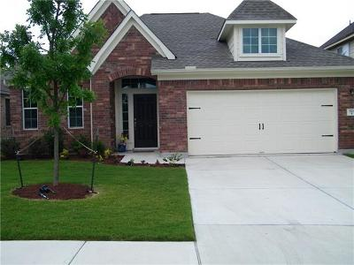 Hutto Rental For Rent: 521 Wiltshire Dr