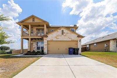 Hutto Single Family Home For Sale: 133 Sabine River Dr