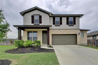 Round Rock Single Family Home For Sale: 8121 Pescara Cv