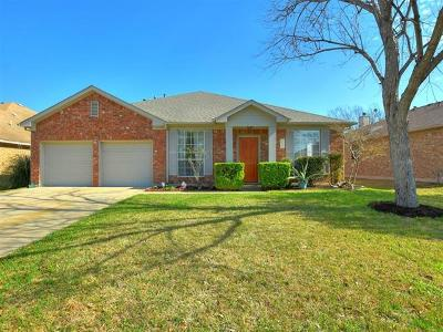 Pflugerville Single Family Home Pending - Taking Backups: 1130 Disraeli Cir