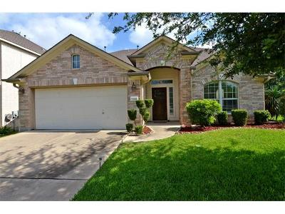 Round Rock TX Single Family Home Pending - Taking Backups: $315,000