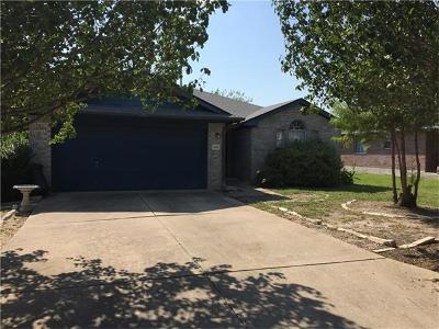 Taylor Single Family Home For Sale: 3001 Crystal Cv