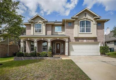 Leander Single Family Home For Sale: 2603 Stagecoach Bnd