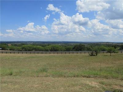 Spicewood Residential Lots & Land For Sale: 1405 Majestic Hills Blvd