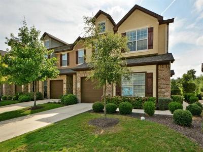 Cedar Park Condo/Townhouse For Sale: 1900 Little Elm Trl #105