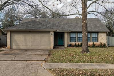 Cedar Park Single Family Home Pending - Taking Backups: 909 Timber Trl