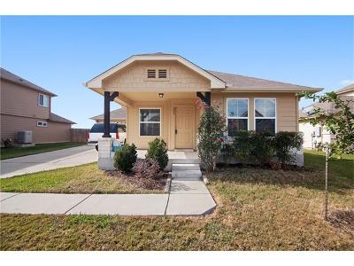 Hutto Single Family Home For Sale: 206 McCoy Dr