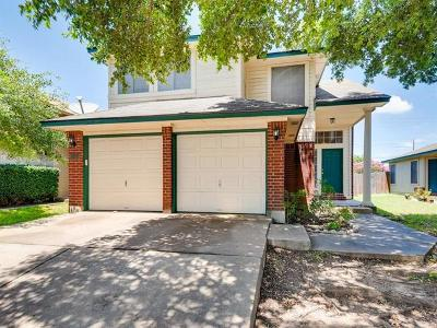 Pflugerville Single Family Home For Sale: 17661 Loch Linnhe Loop