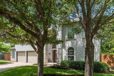 Cedar Park Single Family Home For Sale: 1018 Lone Buck Pass