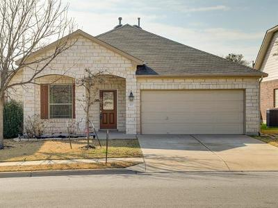 Cedar Park Single Family Home For Sale: 213 Saddle Ridge Dr