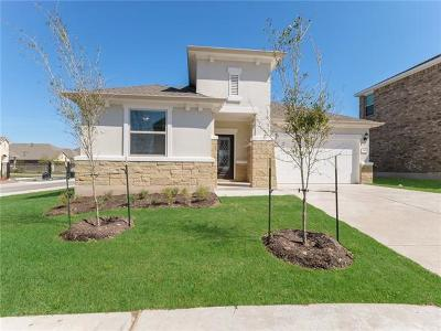Leander Single Family Home For Sale: 545 Whitney Trail