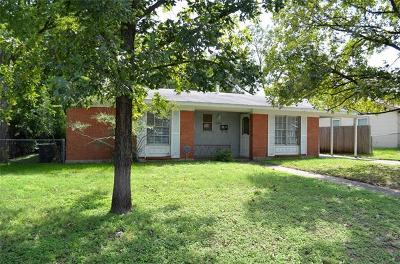 Single Family Home For Sale: 5203 Brookdale Ln