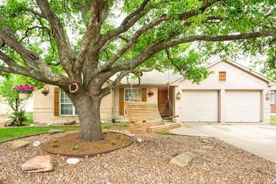 Cedar Park Single Family Home For Sale: 2605 Glenwood Trl