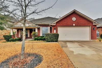 Cedar Park Single Family Home For Sale: 1113 Rowley Dr