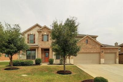 Pflugerville Single Family Home For Sale: 20200 Grand Banks Ln