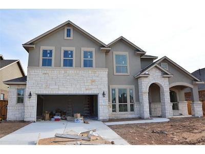 Round Rock TX Single Family Home For Sale: $385,436