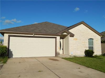 Jarrell Single Family Home For Sale: 524 Copper Ln
