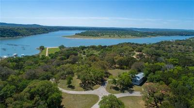 Marble Falls Single Family Home For Sale: Swift Water Rd