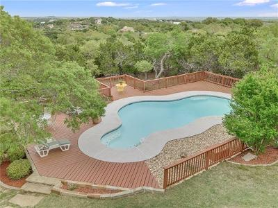 Dripping Springs Single Family Home For Sale: 18001 Montevista Cv