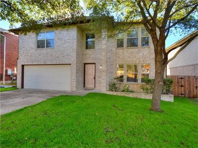 Cedar Park Single Family Home For Sale: 1900 Carriage Club Dr