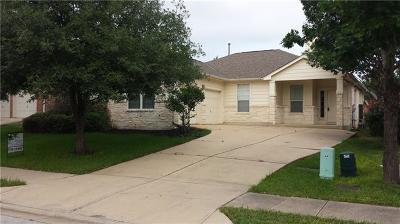 Round Rock Single Family Home For Sale: 743 Bent Wood Pl