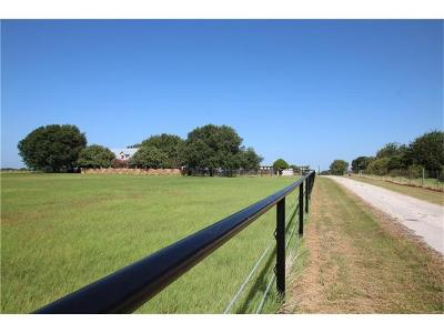 Bastrop County Single Family Home For Sale: 1640 Fm 1704