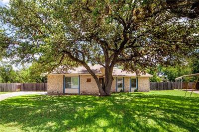 Leander Single Family Home For Sale: 600 Erin Cir