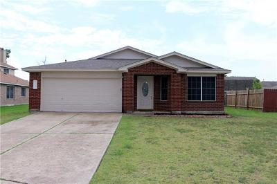 Hutto Single Family Home Pending - Taking Backups: 119 Paige Bnd
