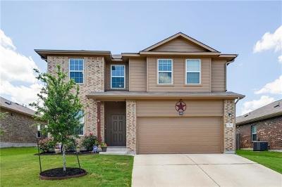 Pflugerville Single Family Home For Sale: 13508 Henneman Dr