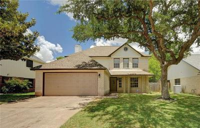 Round Rock  Single Family Home For Sale: 8422 Priest River Dr
