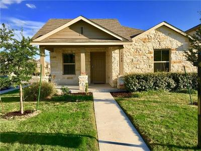 Leander Single Family Home For Sale: 1400 Hamiltons Way