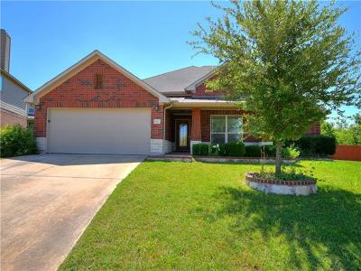 Round Rock Single Family Home For Sale: 1121 Preserve Pl