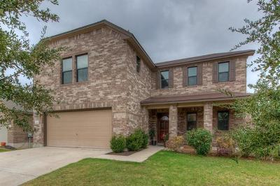 Round Rock Single Family Home For Sale: 1128 Renaissance Trl E