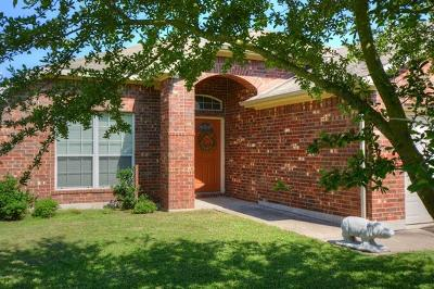 Hutto Single Family Home For Sale: 126 Campos Dr