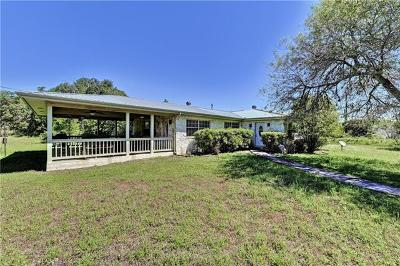 Dripping Springs Single Family Home For Sale: 766 Old Fitzhugh Rd