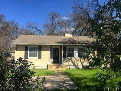 Austin Single Family Home For Sale: 1804 Northwood Rd