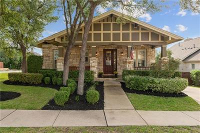 Cedar Park Single Family Home Pending - Taking Backups: 3400 Crystal Hill Dr