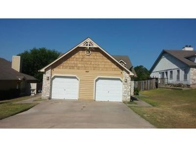 Lakeway Rental For Rent: 507 Cutty Trl #A