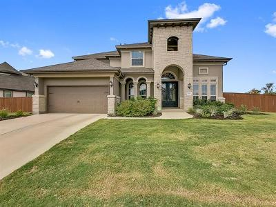 Round Rock Single Family Home For Sale: 5068 Savio Dr