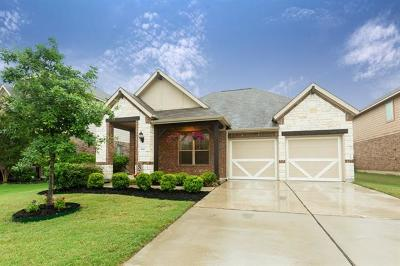 Leander Single Family Home For Sale: 1020 Matheson Dr