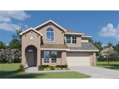 Leander Single Family Home For Sale: 1424 Brooks Way