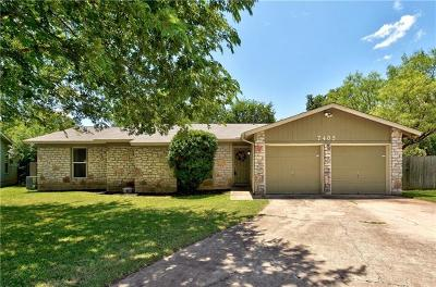 Travis County Single Family Home For Sale: 7405 Ceylon Ct