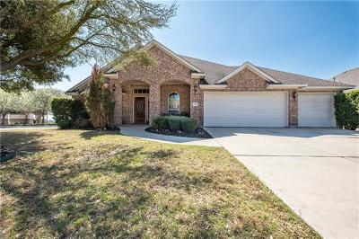 Round Rock Single Family Home For Sale: 2311 Aaron Ross Way