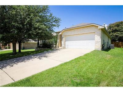 Round Rock Single Family Home For Sale: 125 Chandler Pointe Loop