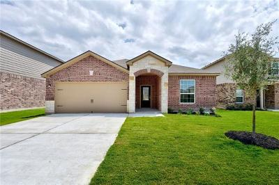 Manor Single Family Home For Sale: 13717 Henry A. Wallace Ln