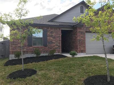 Manor Single Family Home For Sale: 13704 James Buchanan St