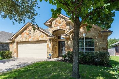 Buda Single Family Home For Sale: 161 Chalk Draw Ct